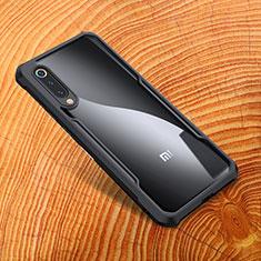 Silikon Hülle Handyhülle Gummi Schutzhülle Spiegel M01 für Xiaomi Mi 9 SE Schwarz