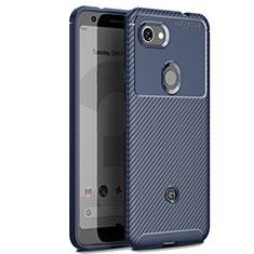 Silikon Hülle Handyhülle Gummi Schutzhülle Tasche Köper für Google Pixel 3 XL Blau