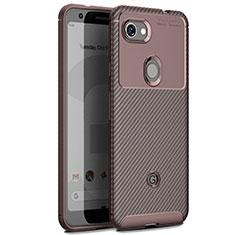 Silikon Hülle Handyhülle Gummi Schutzhülle Tasche Köper für Google Pixel 3 XL Braun