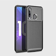 Silikon Hülle Handyhülle Gummi Schutzhülle Tasche Köper für Huawei Honor 20i Schwarz