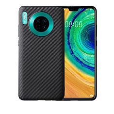 Silikon Hülle Handyhülle Gummi Schutzhülle Tasche Köper für Huawei Mate 30 5G Schwarz