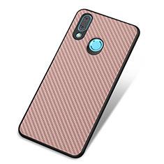 Silikon Hülle Handyhülle Gummi Schutzhülle Tasche Köper für Huawei Nova 3 Rosegold