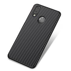 Silikon Hülle Handyhülle Gummi Schutzhülle Tasche Köper für Huawei Nova 3 Schwarz