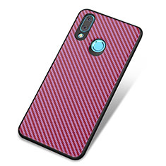 Silikon Hülle Handyhülle Gummi Schutzhülle Tasche Köper für Huawei Nova 3 Violett