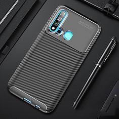 Silikon Hülle Handyhülle Gummi Schutzhülle Tasche Köper für Huawei Nova 5i Schwarz