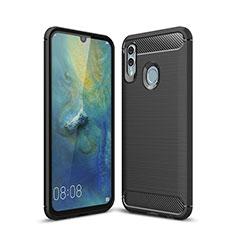 Silikon Hülle Handyhülle Gummi Schutzhülle Tasche Köper für Huawei P Smart (2019) Schwarz