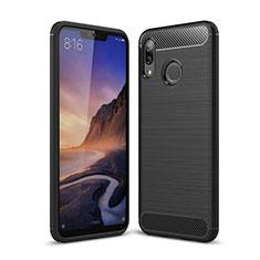 Silikon Hülle Handyhülle Gummi Schutzhülle Tasche Köper für Huawei P Smart+ Plus Schwarz