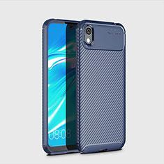 Silikon Hülle Handyhülle Gummi Schutzhülle Tasche Köper für Huawei Y5 (2019) Blau