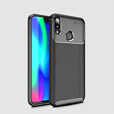 Silikon Hülle Handyhülle Gummi Schutzhülle Tasche Köper für Huawei Y7 (2019) Schwarz