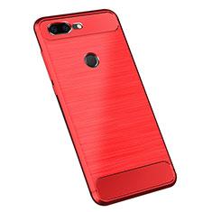 Silikon Hülle Handyhülle Gummi Schutzhülle Tasche Köper für OnePlus 5T A5010 Rot