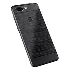 Silikon Hülle Handyhülle Gummi Schutzhülle Tasche Köper für OnePlus 5T A5010 Schwarz