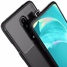 Silikon Hülle Handyhülle Gummi Schutzhülle Tasche Köper für OnePlus 7 Pro Schwarz