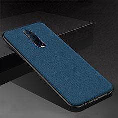 Silikon Hülle Handyhülle Gummi Schutzhülle Tasche Köper für Oppo RX17 Pro Blau