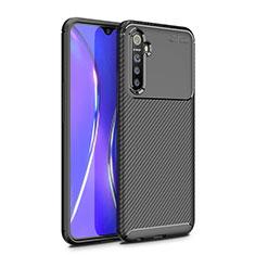 Silikon Hülle Handyhülle Gummi Schutzhülle Tasche Köper für Realme X2 Schwarz