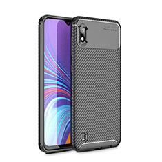 Silikon Hülle Handyhülle Gummi Schutzhülle Tasche Köper für Samsung Galaxy A10 Schwarz