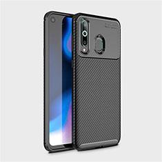 Silikon Hülle Handyhülle Gummi Schutzhülle Tasche Köper für Samsung Galaxy A8s SM-G8870 Schwarz