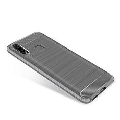Silikon Hülle Handyhülle Gummi Schutzhülle Tasche Köper für Samsung Galaxy A9 Star SM-G8850 Grau