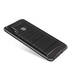 Silikon Hülle Handyhülle Gummi Schutzhülle Tasche Köper für Samsung Galaxy A9 Star SM-G8850 Schwarz
