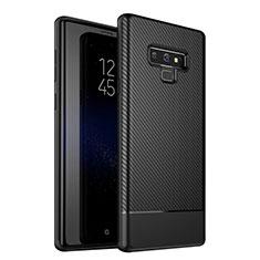 Silikon Hülle Handyhülle Gummi Schutzhülle Tasche Köper für Samsung Galaxy Note 9 Schwarz