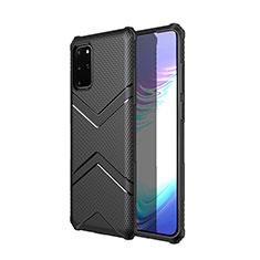 Silikon Hülle Handyhülle Gummi Schutzhülle Tasche Köper für Samsung Galaxy S20 Plus 5G Schwarz