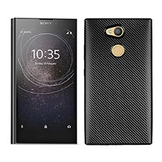 Silikon Hülle Handyhülle Gummi Schutzhülle Tasche Köper für Sony Xperia L2 Schwarz