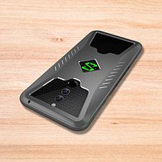 Silikon Hülle Handyhülle Gummi Schutzhülle Tasche Köper für Xiaomi Black Shark Helo Grau
