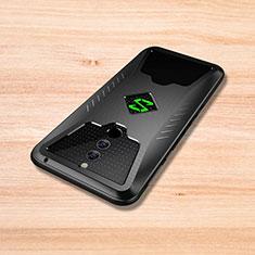 Silikon Hülle Handyhülle Gummi Schutzhülle Tasche Köper für Xiaomi Black Shark Helo Schwarz