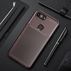 Silikon Hülle Handyhülle Gummi Schutzhülle Tasche Köper für Xiaomi Mi 8 Lite Braun