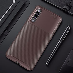 Silikon Hülle Handyhülle Gummi Schutzhülle Tasche Köper für Xiaomi Mi 9 Pro Braun