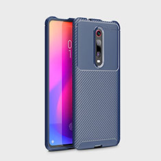 Silikon Hülle Handyhülle Gummi Schutzhülle Tasche Köper für Xiaomi Mi 9T Pro Blau