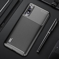 Silikon Hülle Handyhülle Gummi Schutzhülle Tasche Köper für Xiaomi Mi A3 Schwarz