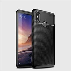 Silikon Hülle Handyhülle Gummi Schutzhülle Tasche Köper für Xiaomi Mi Max 3 Schwarz