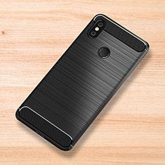 Silikon Hülle Handyhülle Gummi Schutzhülle Tasche Köper für Xiaomi Mi Mix 3 Schwarz