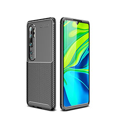 Silikon Hülle Handyhülle Gummi Schutzhülle Tasche Köper für Xiaomi Mi Note 10 Schwarz