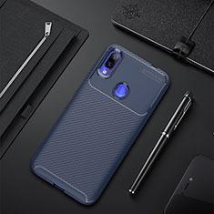 Silikon Hülle Handyhülle Gummi Schutzhülle Tasche Köper für Xiaomi Redmi 7 Blau