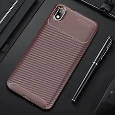 Silikon Hülle Handyhülle Gummi Schutzhülle Tasche Köper für Xiaomi Redmi 7A Braun