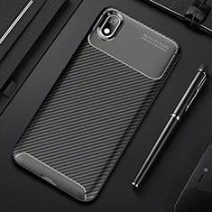 Silikon Hülle Handyhülle Gummi Schutzhülle Tasche Köper für Xiaomi Redmi 7A Schwarz