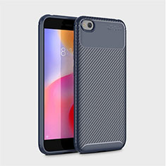 Silikon Hülle Handyhülle Gummi Schutzhülle Tasche Köper für Xiaomi Redmi Go Blau