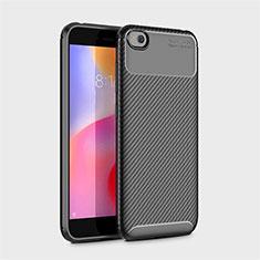 Silikon Hülle Handyhülle Gummi Schutzhülle Tasche Köper für Xiaomi Redmi Go Schwarz