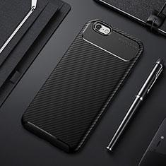 Silikon Hülle Handyhülle Gummi Schutzhülle Tasche Köper S01 für Apple iPhone 6S Schwarz