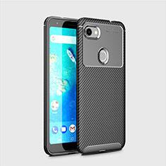 Silikon Hülle Handyhülle Gummi Schutzhülle Tasche Köper S01 für Google Pixel 3 Schwarz