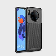 Silikon Hülle Handyhülle Gummi Schutzhülle Tasche Köper S01 für Huawei Mate 30 Pro 5G Schwarz
