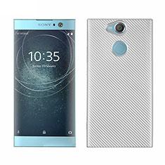 Silikon Hülle Handyhülle Gummi Schutzhülle Tasche Köper S01 für Sony Xperia XA2 Weiß