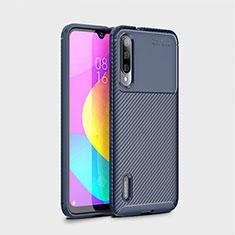 Silikon Hülle Handyhülle Gummi Schutzhülle Tasche Köper S01 für Xiaomi Mi A3 Blau