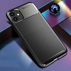 Silikon Hülle Handyhülle Gummi Schutzhülle Tasche Köper Y01 für Apple iPhone 11 Schwarz