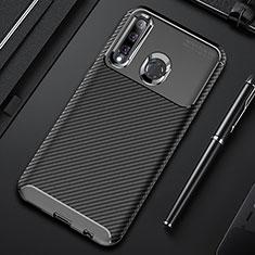 Silikon Hülle Handyhülle Gummi Schutzhülle Tasche Köper Y01 für Huawei Honor 20 Lite Schwarz