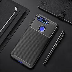 Silikon Hülle Handyhülle Gummi Schutzhülle Tasche Köper Y01 für Huawei Honor V20 Schwarz