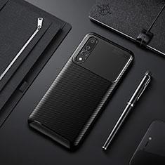 Silikon Hülle Handyhülle Gummi Schutzhülle Tasche Köper Y02 für Huawei P20 Pro Schwarz