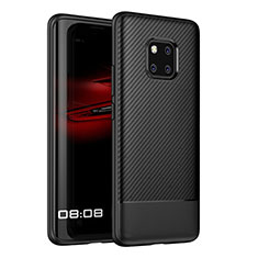 Silikon Hülle Handyhülle Gummi Schutzhülle Tasche Köper Z01 für Huawei Mate 20 Pro Schwarz