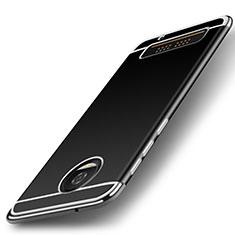 Silikon Hülle Handyhülle Gummi Schutzhülle TPU für Motorola Moto Z Play Silber